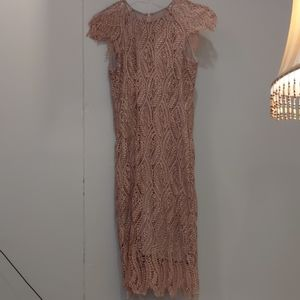 Anthropologie Mignon Doo Lace Dress
